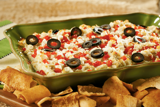 Layered Hot Artichoke & Feta Dip Image 1