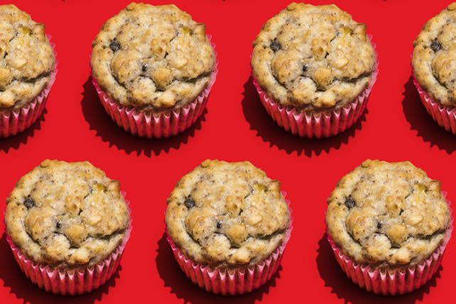 Banana Nut Bread Muffins with Flaxseed Image 1
