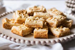Barres au beurre d'arachide et au chocolat blanc