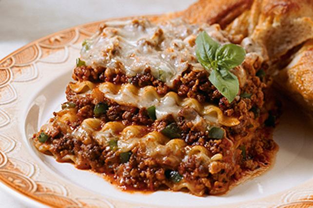 Lasagne à la viande consistante Image 1