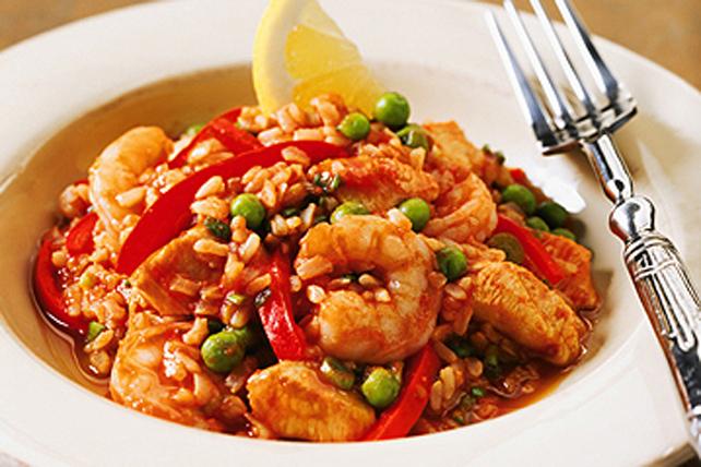 Riz pilaf aux fruits de mer à l'espagnole Image 1
