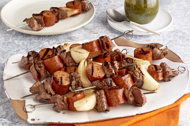 Brochettes brésiliennes au chimichurri Image 1