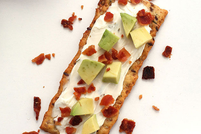 Avocado & Bacon Flatbread Image 1
