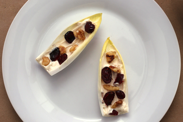 Cranberry-Walnut Endive Boats Image 1