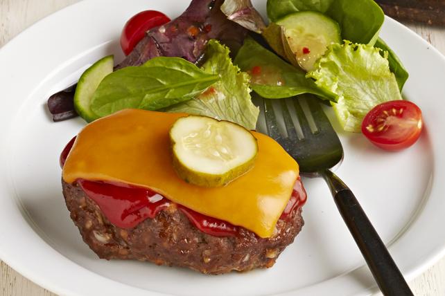 Mini-pains de viandes façon burger au fromage Image 1