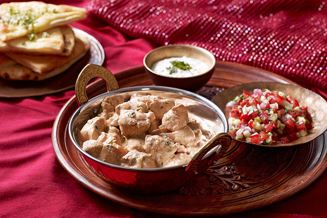 Creamy chicken korma kraft recipes creamy chicken korma forumfinder Choice Image