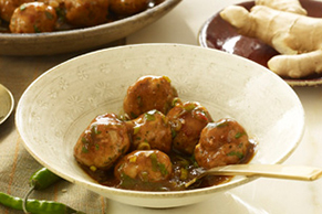 Indian-Style Chicken Koftas