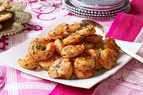 Indian-Style Stir-Fried Tandoori Shrimp