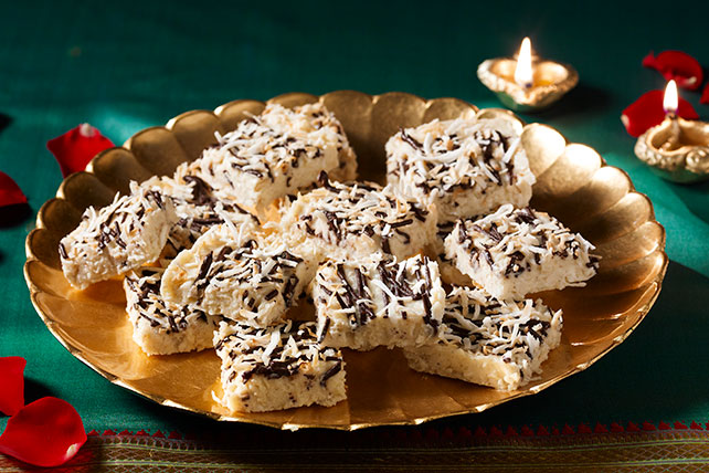 India-Inspired Chocolate-Coconut Burfi Image 1