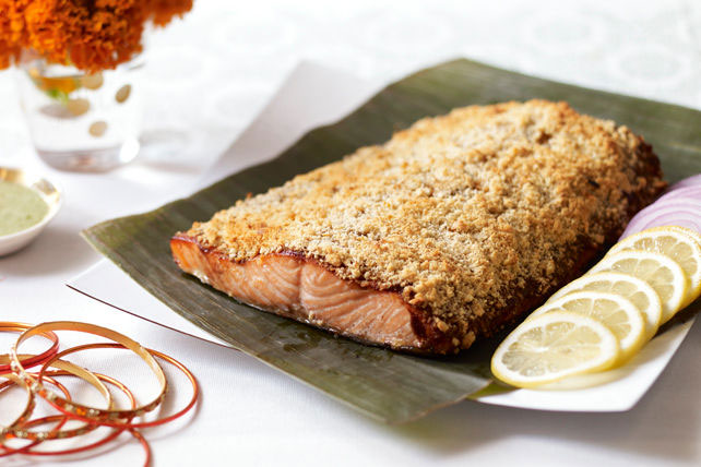 Indian-Style Sunehari Salmon