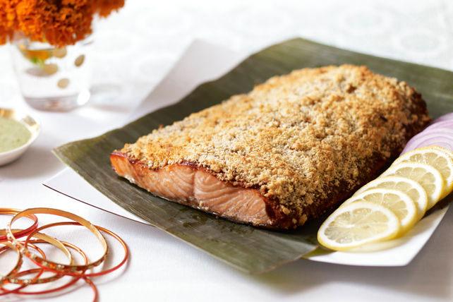 Indian-Style Sunehari Salmon Image 1