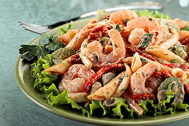 Salade de pâtes aux crevettes Image 1