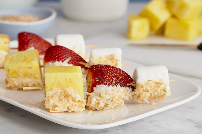 Fruit and Marshmallow Kabobs Image 1