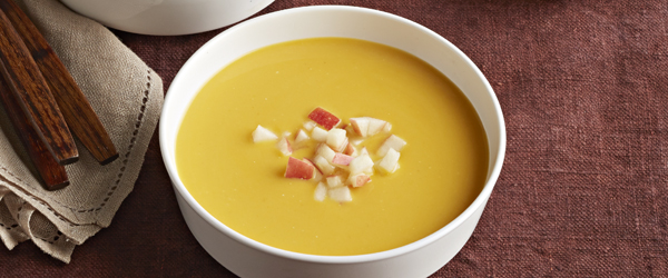 Curried Squash & Apple Soup