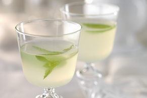 Lemonade-Lime Mocktail Mojito