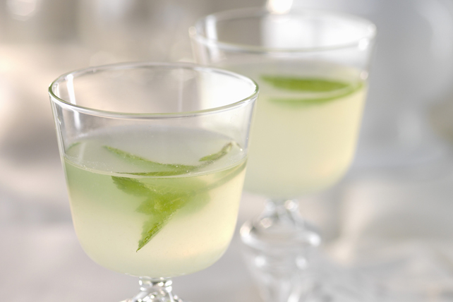 Lemonade-Lime Mocktail Mojito Image 1