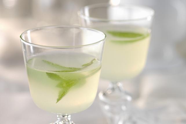 Mojito sans alcool à la limonade et au citron Image 1