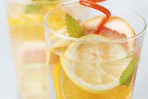 Bubbly Triple-Citrus Iced Tea