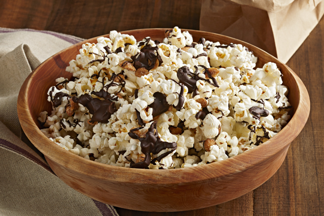Peanut & Chocolate Popcorn Mix Image 1