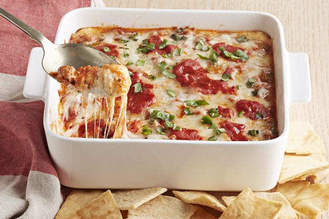 Trempette au fromage façon lasagne Image 1