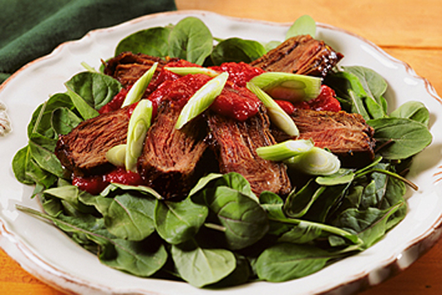 Succulent Steak Salad