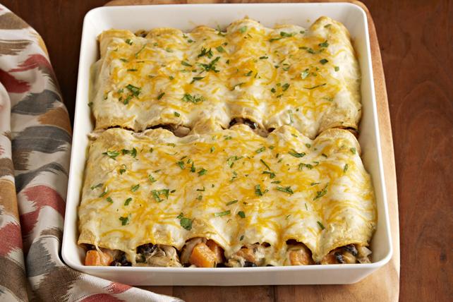 Creamy Verde-Chicken Enchiladas Image 1