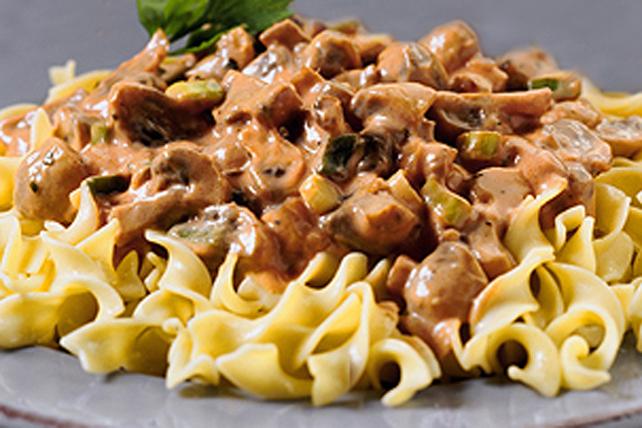 Creamy Mushroom-Pasta Toss Image 1