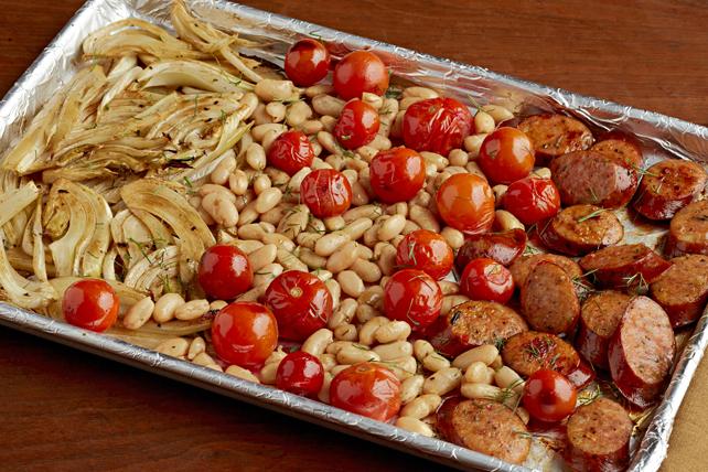 Italian Sausage Sheet-Pan Medley Image 1