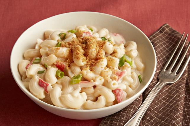 Macaroni au cheddar blanc et au crabe Image 1