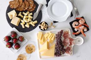 Plateau de fromages festif