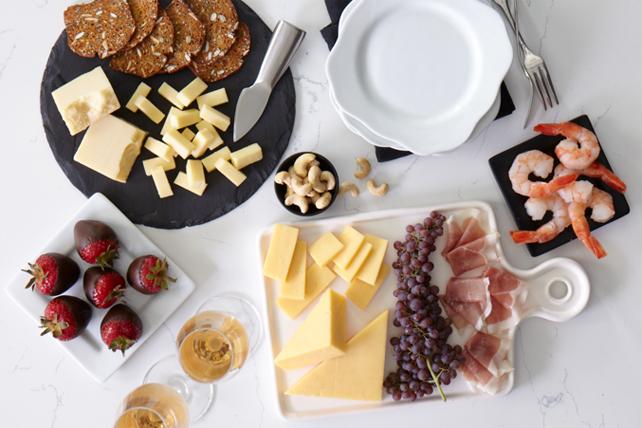 Plateau de fromages festif Image 1