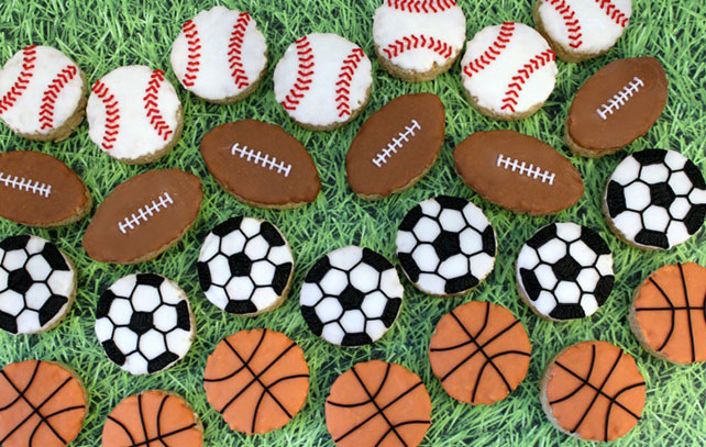 Crispy Cereal Treat Sport Balls Image 1