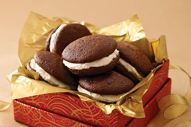 Triple-Chocolate Whoopie Pies Image 1
