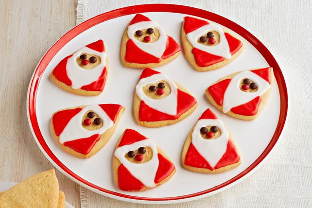 Biscuits au sucre en forme de PèreNoël Image 1
