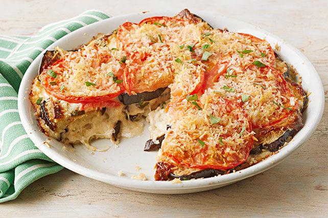 Casserole crémeuse d'aubergine au parmesan Image 1
