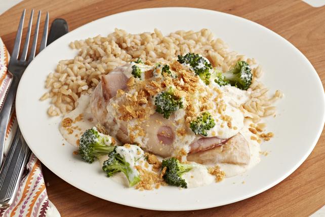 Make-Ahead Swiss, Chicken & Broccoli Casserole Image 1