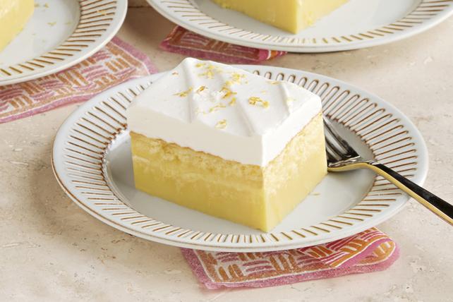 Magic Layered Lemon Cake Image 1