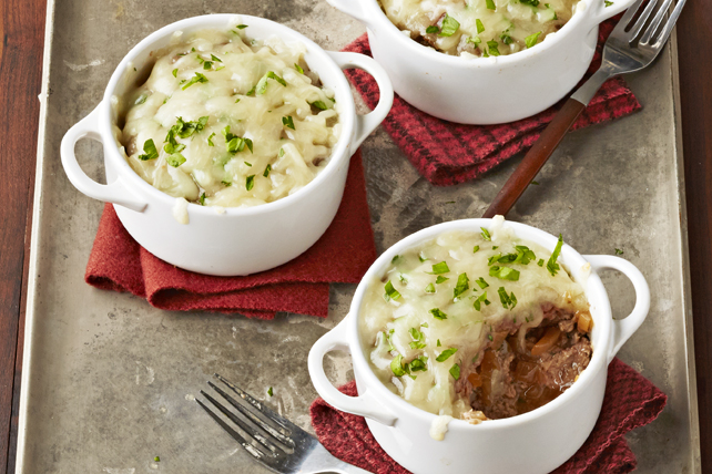 Mini French Onion Meatloaves Image 1