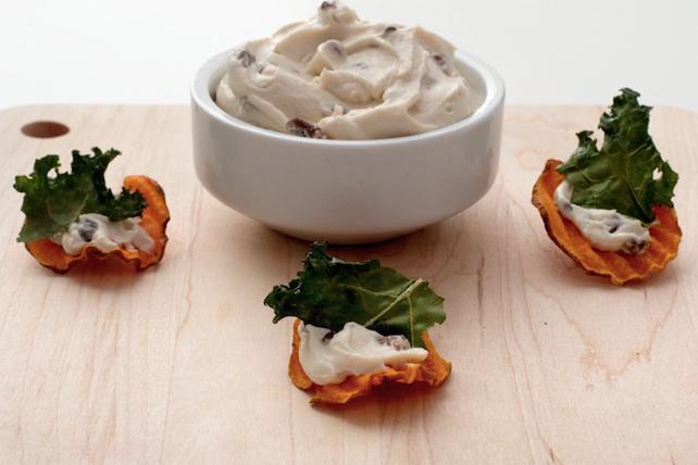 Croquants de patate douce et de chou frisé Image 1