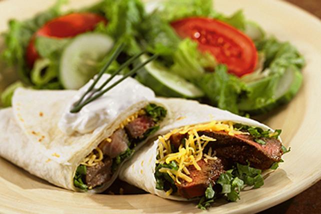 Fajitas au bifteck fumé Image 1