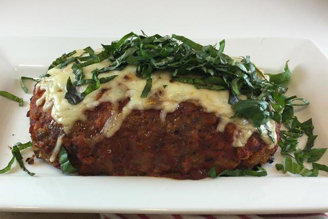 Pain de viande Margherita à l'italienne Image 1