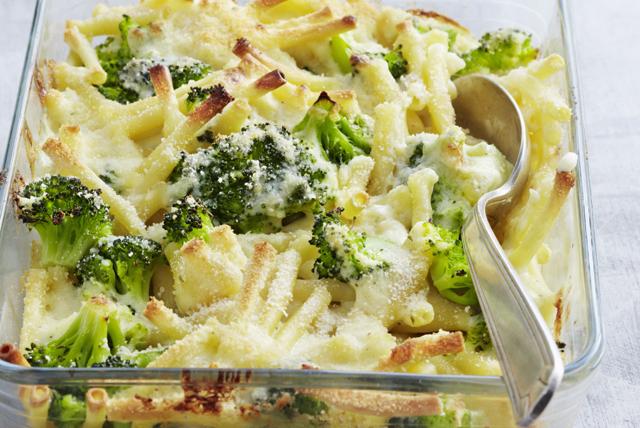 Pâtes au fromage et au brocoli au four Image 1