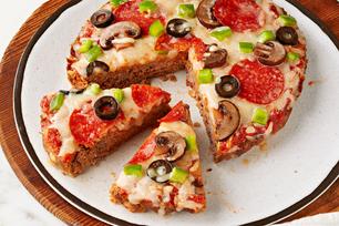 Pain de viande à la pizza