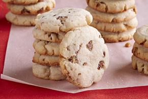 Pecan-Cream Cheese Shortbread Cookies