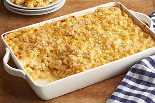 Macaroni et fromage au four façon resto