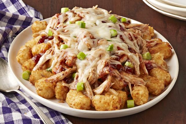 Pépites de pommes de terre et dinde barbecue aux canneberges Image 1