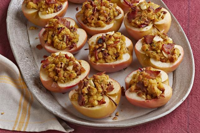 Pommes au four farcies de pain de maïs Image 1