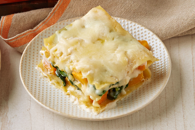 Butternut Squash & Spinach Lasagna Image 1
