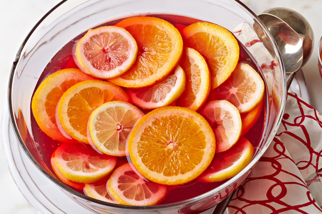 Winter Citrus Sangria Image 1