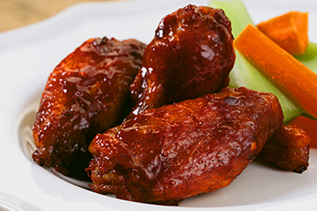 Caribbean Baked Chicken Wings